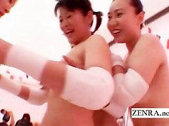 Subtitruota Japonija, apatinis trikotažas milfs nudistų tinklinis juostelės