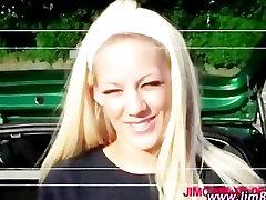 Blonde naughty schoolgirl