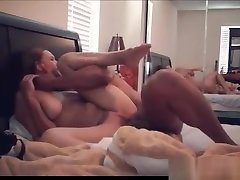 Sexy amateur couple creampie