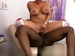 Big tit massage asian upskirt nurse checking this guy out