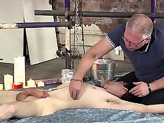 Sexy gay chap gets his dick treated nicely in a fetish act