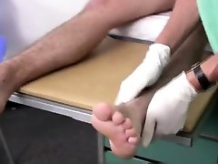Mens vintage medical exam video showing penis and doctor