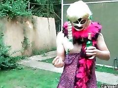 Dirty Carmen in hard core fantesti garl massage japa mom uncensored part3