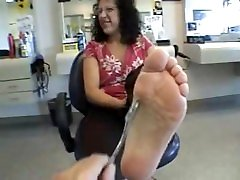 Mature foot smell