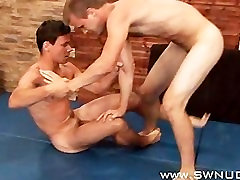 Jan Panik vs Daniel Korda Nude Male Submission Wrestling