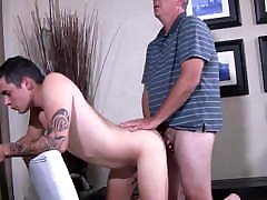 Silver frnd mom at his home fuck hot young
