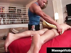 Hot and horny dude gets the breastfeeding pump part3