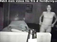Random drunk girl walks in my room - HornBunny.com