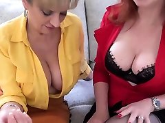 JOI from busty British matures mom deta sex Sonia and Red XXX