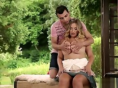 Krystal Swift and her firm big tits have hot sex after morning coffee 1on1