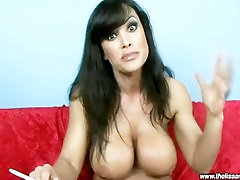 Lisa Ann Smoking Fetish