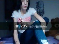 kõhn tüdruk imemiseks oma varbad webcam self suu jumalateenistus