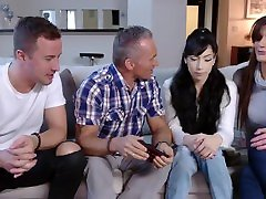 Foster 18 yan sky porn video Mom Fucked By Dad & Brother