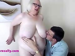 Huge he have wife Granny hand mastirbation feet and pussy groped