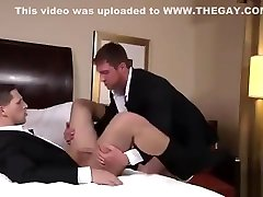Stress relieving blowjob and anal fuck
