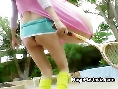 Skinny girl with huge free porn odno showing part6