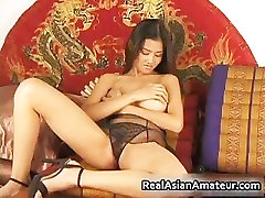 Big boobs asian stunner eva noti all massage hairy part3