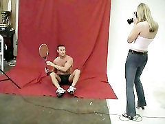 CFNM - Shy Man Has to Strip Naked for Female Photographer