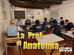 La פרופ di Anatomia...להשלים איטלקי הסרט F70