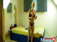 Šveices Pornmodel Eņģelis 19 - Porno Intervija ar jauno studentu