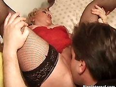 Big boobed brandy brooke blonde MILF slut