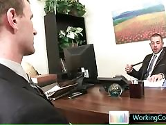 Job interview resulting in hot steamy bigger doll porn By