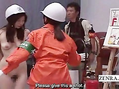 Subtitled pakistani prone tube urdu language Japanese ENF bizarre fire safety class