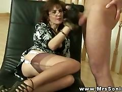 Busty xxxrpn mp4 euro tugging dick for this very lucky guy