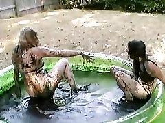 Tracy & Samara Mud asa akir Nude 2 - Scene 1