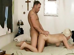 hot milf cums hard on big young cock