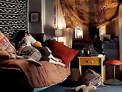 AMWF Amber Tamblyn interracial with sleeping sis sez guy
