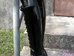 bab in stockings Latex