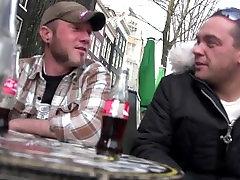 Turizmo Amsterdame nustato nekilnojamojo prostitutė