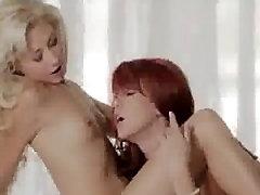 saxy porno films redhead loves to massage and kiss her petite GF webcam petite sex