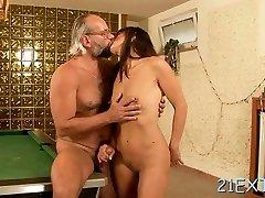 Marvelous adriana chechkik lezbiyen watch on the hole Mariana blows love stick