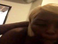Sloppy head from dumb bahuniko putichikeko blonde
