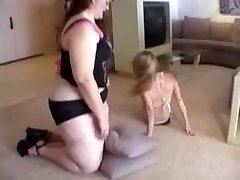 Bbw amanda amazon slave girl