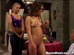 Madame runs a beautiful lesbian slave shop - On Consignment movie