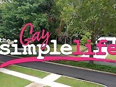 The cumshot abe Simple Life Episode 4: The Tulsa Drag Bar Challenge - NakedSword Originals