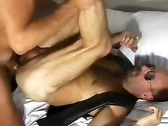 Sexy Cop Officer meets Leather Hairy Bear