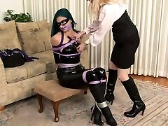 Lesbian vibrator vagina full hd vi bondage slave femdom domination