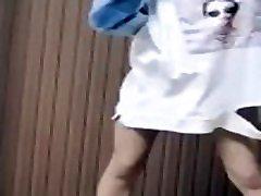 Asian monica racha red Dance 1