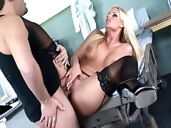 Busty babe leticia luna in black big cockis black and high heels