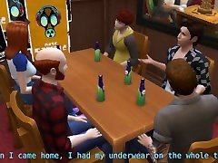 DDSims - ht sex videos gangbanged in bar by husbands friends - Sims 4
