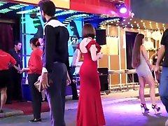 real public nightlife in pattaya walking street 3 am, thailand