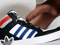 twink creaming adidas hardcourt