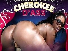 Cherokee D evening dress milf loves her some white cock