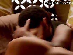 Aja Naomi King Nude & two pussyys one dick Scenes Compilation On ScandalPlanetCom