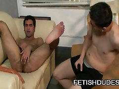 Rocke Hard And Gabriel Blue - A Fetish Ass Play With Two Kinky Guys