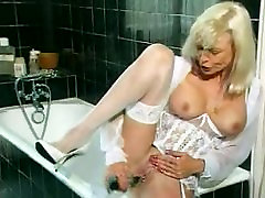 Granny in White Lingerie midget and old xxx gray pornxxfuck Fisted